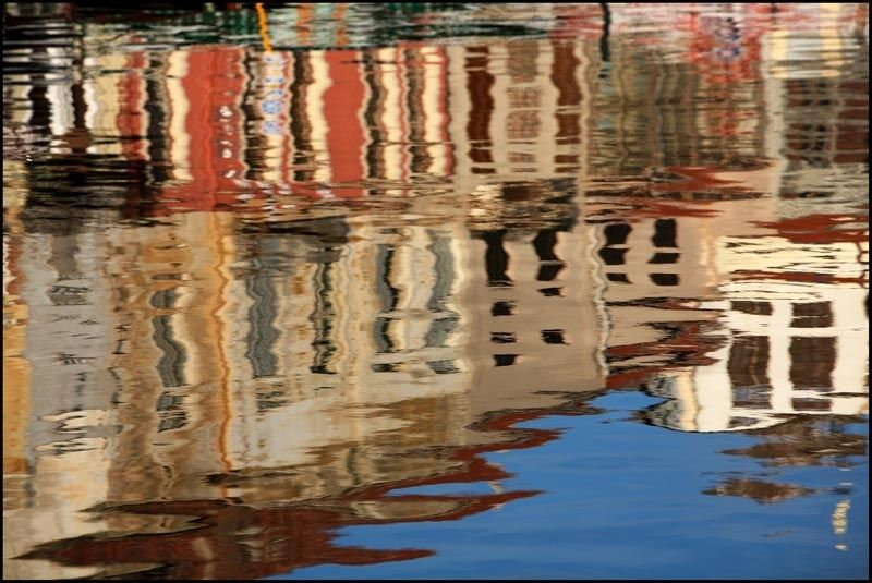 greece chania old city venetian harbor reflections 14